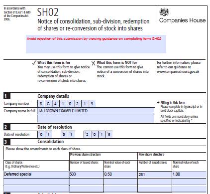 SH02 form