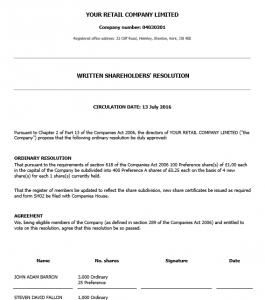 shareholders-resolution