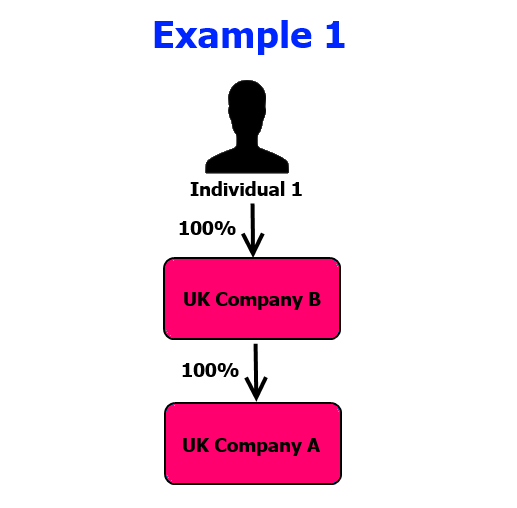 Relevant legal entity example 1