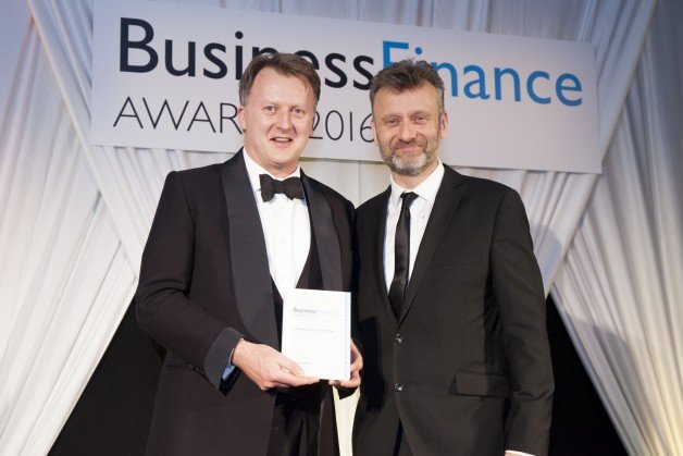 Inform Direct CEO Henry Catchpole receives the Software Product of the Year Award