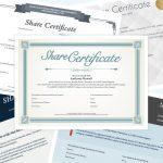 Premium share certificates
