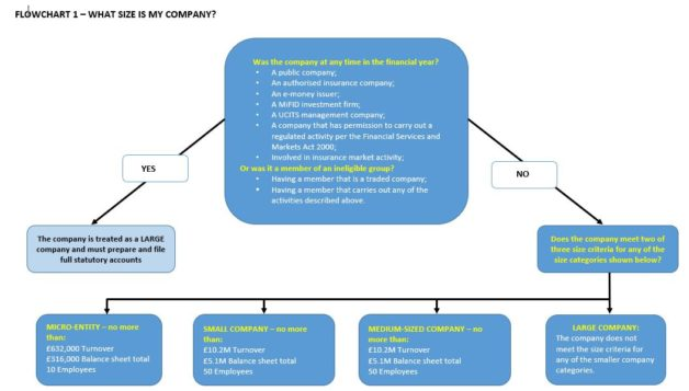 FLOW CHART 1 - CALCULATE YOUR COMPANY SIZE