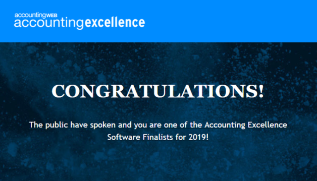 Accounting Excellence Software Awards